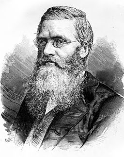 Alfred Russel Wallace engraving