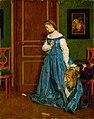 Alfred Stevens - Hesitation (Madame Monteaux^) - 1933.1178 - Art Institute of Chicago.jpg
