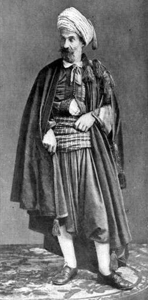 History of the Jews in Algeria - A Jew of Algiers, late 19th century