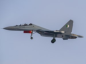 Suchoi Su-30MKA der Algerian Air Force