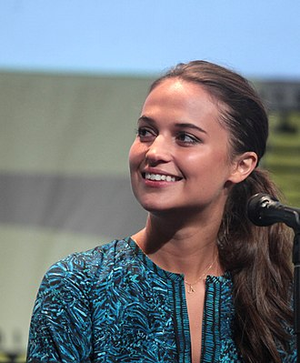 Alicia Vikander - Vikander at the 2015 San Diego Comic-Con