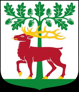 Alingsås Municipality - Image: Alingsås kommunvapen Riksarkivet Sverige