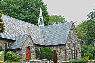 National Register of Historic Places listings in northern Westchester County, New York - Image: All Saints Briarcliff 2