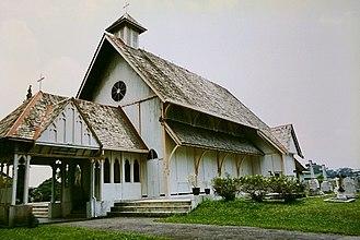 All Saints' Church, Taiping - All Saints' Church in Taiping, Perak, the oldest Christian church in Malaysia