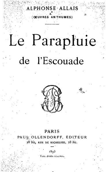 File:Allais - Le Parapluie de l'escouade.djvu