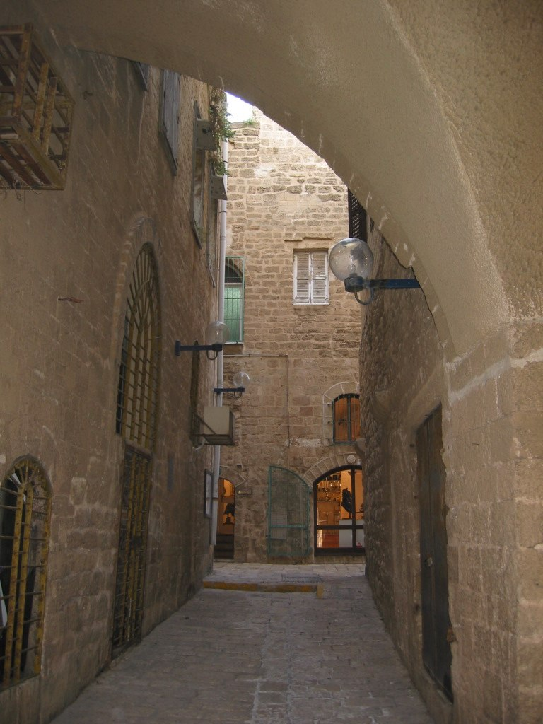 Alley in Jaffa