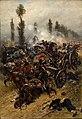 Alphonse de Neuville - Escena de batalla, 1883.jpg