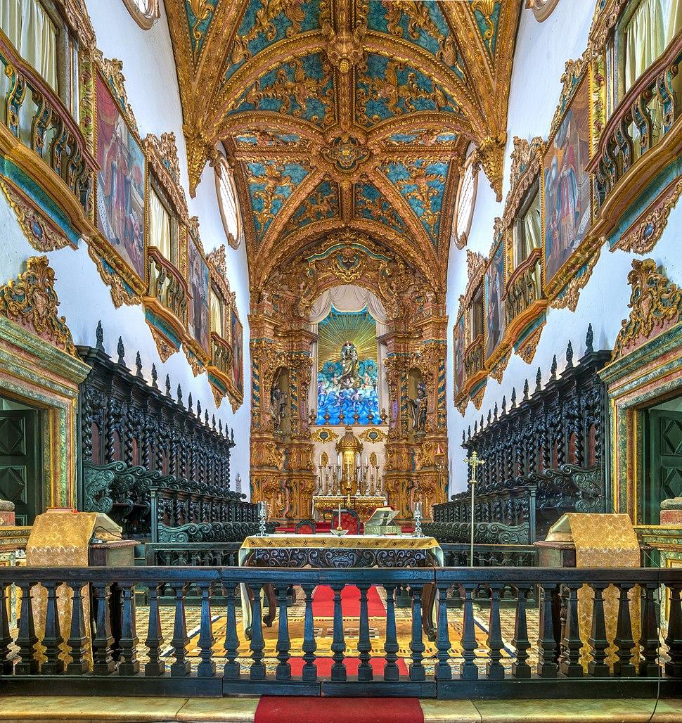 Altar-mor da Basílica de Nossa Senhora do Carmo, Recife, Pernambuco, Brasil