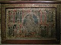Altar Frontal, Catalan, ca. 1225, Virgin and Child with eight apostles (5465693592).jpg