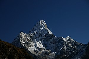 Ama Dablam - The classic view from the southwest
