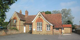 Ambrosden - The village hall in Merton Road was built in 1876 as the parish school