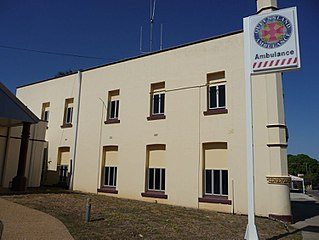 Ambulance Building, Charters Towers