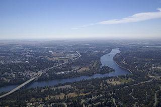 American River river in California, United States