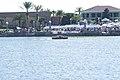 Amphicar 770 1965 0479 Morning swim 02 wide Lake Mirror Cassic 16Oct2010 (14877348075).jpg