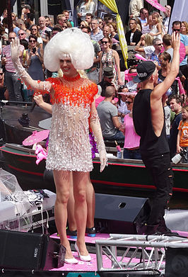 Dolly Bellefleur, Amsterdam Gay Pride (2015)