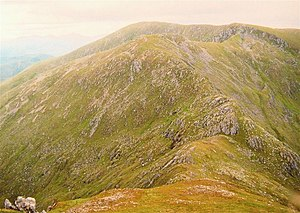 An Riabhachan from the east ridge of An Socach - geograph.org.uk - 1130867.jpg