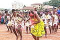 An all-Female Cultural Dance Troupe, from Annunciation Secondary School 01.jpg