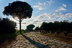 Ancient Main Road, Ostia Antica (45899012505).jpg