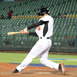 Andrelton Simmons - Simmons batting for the Netherlands national team in 2013 World Baseball Classic