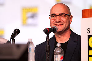 Andy Bobrow - Andy Bobrow speaking at the 2012 San Diego Comic-Con International in San Diego, California.