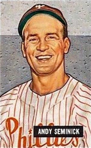 Andy Seminick - Seminick in 1951