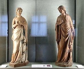 Vierge et Ange de l'Annonciation