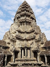 A tower of Angkor Wat