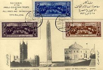Anglo-Egyptian treaty of 1936 - Anglo-Egyptian Treaty of 1936