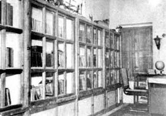 C. N. Annadurai - Annadurai, known for his excellent oratorical skills, was fond of books. This image shows his private library.