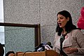 Anna Valencia Chicago City Clerk Equal Pay Day Rally and Press Conference Chicago Illinois 4-10-18 0705 (40688407004).jpg
