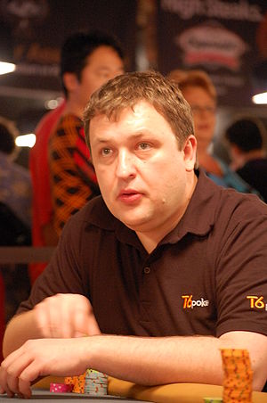 Tony G at the 2008 World Series of Poker