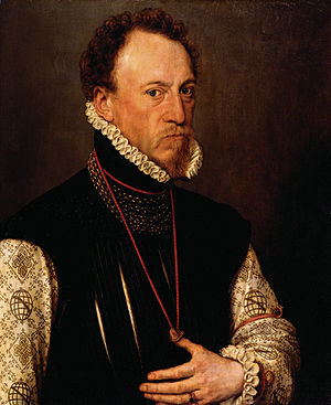 Henry Lee of Ditchley - Sir Henry Lee by Antonis Mor, 1568