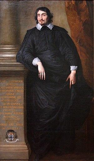 Cesare Alessandro Scaglia - Scaglia by van Dyck, c.1634.