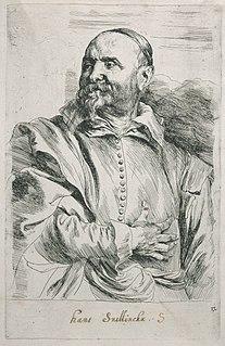 Jan Snellinck Flemish art collector, painter