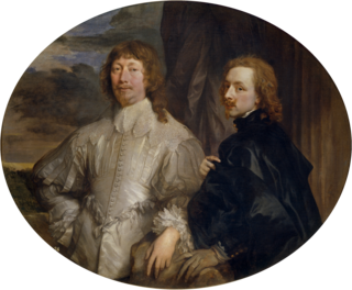 Anthony van Dyck, Self-portrait with Endymion Porter, c. 1635