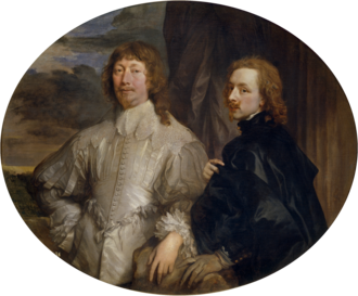 Self-portrait with Sir Endymion Porter - Image: Anthony van Dyck Sir Endymion Porter and van Dyck