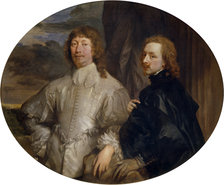 Archivo:Anthony van Dyck - Sir Endymion Porter and van Dyck.png