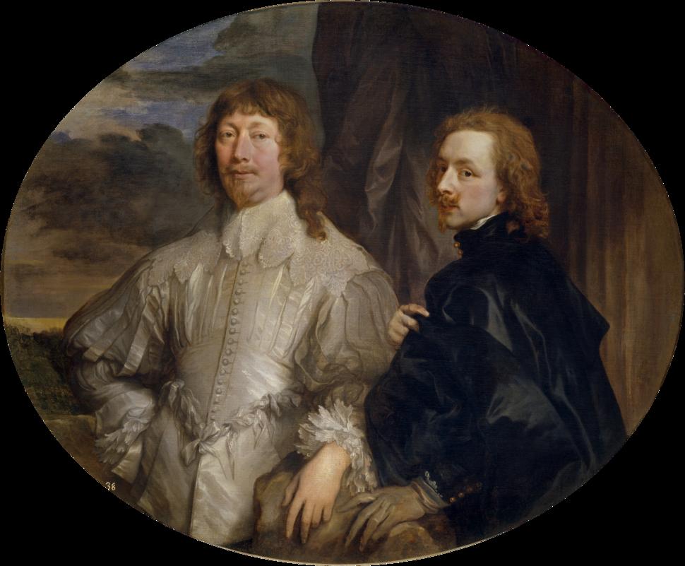 Anthony van Dyck - Sir Endymion Porter and van Dyck