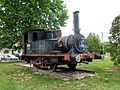 Antigua locomotora - Paseo de Córdoba - Córdoba (España)..JPG