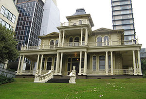 Edwardian architecture - Antrim House, an historic Edwardian building in Wellington, New Zealand
