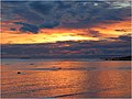 Apocalyptic sunset above Baltic Sea - panoramio.jpg