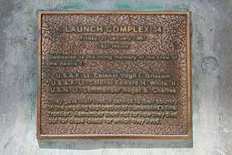 Launch Complex 34 Plaque