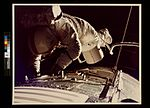 Apollo 17 Astronaut Evans Retrieves Film Canister During Space Walk (3746739697).jpg