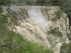 Apsley River (New South Wales) - Image: Apsley Falls 08