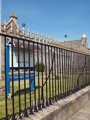 Arbour Hill Prison - Image: Arbour Hill Prison signage