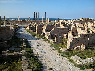Archaeological site - Image: Archaeological Site of Sabratha 108975