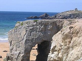 Quiberon Bay - Port Blanc Arch and Quiberon Bay