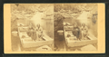 Arctic Philosopher and Wife in the Pool, Franconia Mts., N.H, from Robert N. Dennis collection of stereoscopic views.png