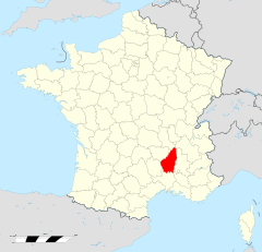 Ardèche departement locator map.svg