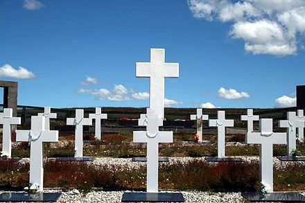 The Argentine Military Cemetery on East Falkland Argentinegraveseastfalkland.jpg